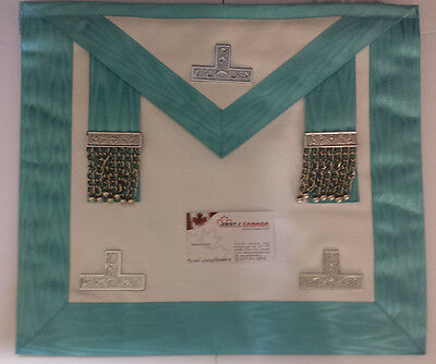 Craft Worshipful Master Apron Made of Imitated Leather