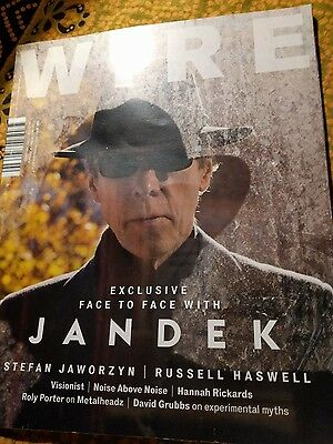 JANDEK Wire Magazine back issue JANDEK COVER First and only  interview ever!!