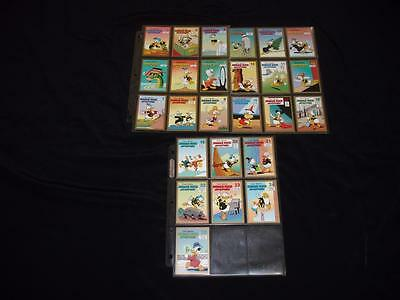 Disney Carl Barks Library Donald Duck Adventures 25 Trading Card Set Scrooge Art