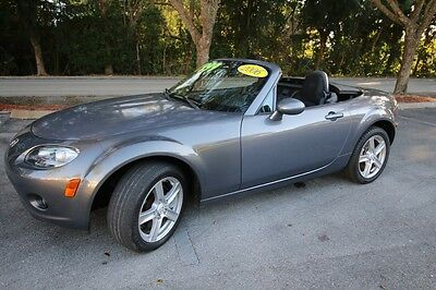 2006 Mazda MX-5 Miata Base Convertible 2-Door Lady Owned-Beautiful Car-Low Reserve-Ready For Zoom Zoom Zoom!