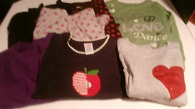 Gymboree & Gap Kids Girls Tops Size 6 - Lot Of 7 Pieces Euc
