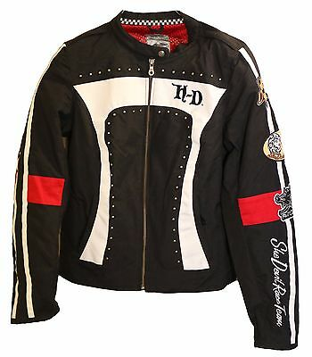 Women's Harley Davidson She Devil Race Team -Riding Jacket -Artistry in Iron -M