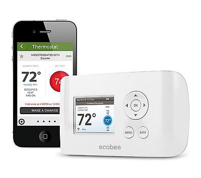 ecobee EMS Si - Commercial Wireless (WiFi) Thermostat - 10-pack