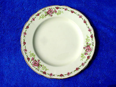 c Quality 18K Gold Alfred Meakin Rosecliffe Royal Marigold Quality Dinner Plate