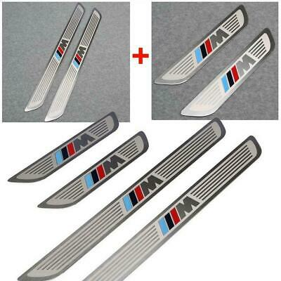 Door Sill Panel Step Scuff Plate Protector Stainless Steel For BMW 2007-2015