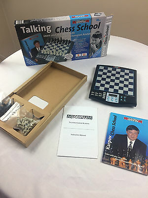 Talking Chess School with Anatoly Karpov by Milennium - Age 6+ Learn To Play