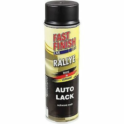 Can Spray paint black matte Spraydose 500 ml Fast Finish Lacquer Car 292828