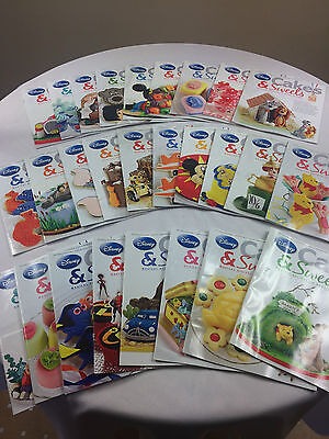 Bundle of 27 Disney Cakes & Sweets Magazines - Issues 32-58 Recipes bake off