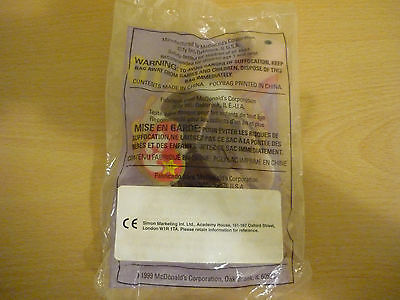 McDonalds Happy Meal Toy Ty Teenie Beanie Stretchy the Ostrich - sealed in bag