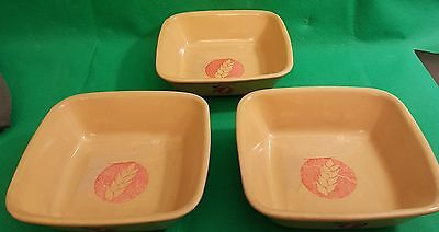 Weetabix 70th Anniversary Bowls Collectable x 3 (B5)