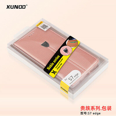 XUNDD Noble Leather Case of Galaxy S7 Edge, retail packaging - bulk price 10 Pcs