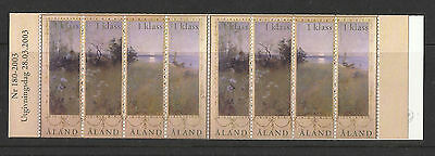 Aland - 2003 - Booklet of 8 stamps - MNH - Paintings