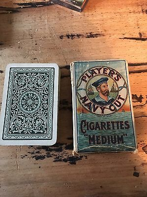 ANTIQUE-PACK OF MINIATURE PLAYING CARDS Goodall & Son C 1900s