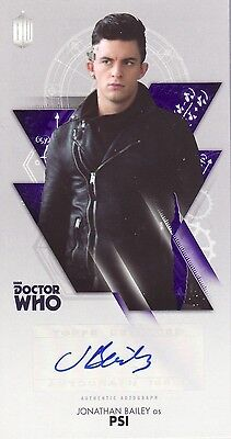 Topps Doctor Who Tenth Adventures Jonathan Bailey / Psi Auto Card