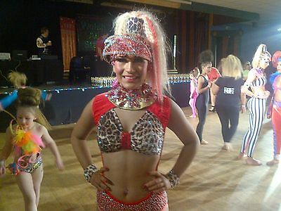Design by Janine Freestyle Dance Costume
