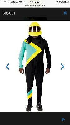 Used Adult Jamaican Bobsleigh Costume