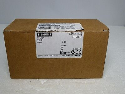 SIEMENS SIMATIC ET200S Repeater 6ES7 972-0AA02-0XA0 E-Stand: 1 (4874)