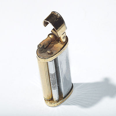 colibri 269 lift arm pipe lighter metal twin roller made in japan not working