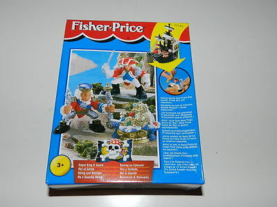 Fisher Price Great Adventures King and Royal Guard NIB