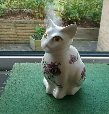 Hammersley Cat rare  Victorian Violets from England's Countryside Bone China