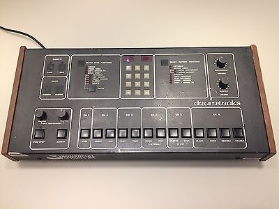 Sequential Circuits Drumtraks Vintage Drum Machine Analog Synth