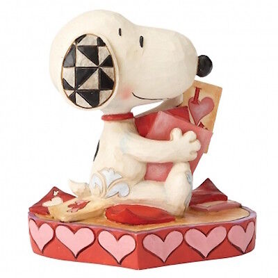 Peanuts By Jim Shore 4055652 Puppy Love (Snoopy) New & Boxed