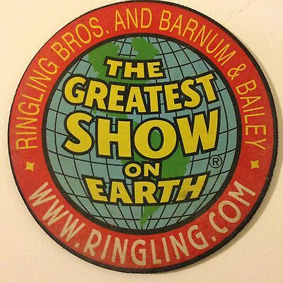 Ringling Bros. and Barnum & Bailey promotional mousepad