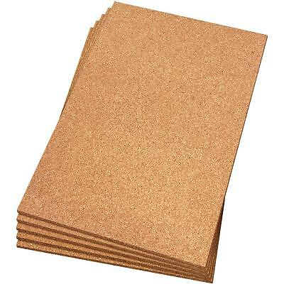 """2 sheets of 2'x3'x1/2"""" THICK Cork Board, flooring,acoustic,bulletin boards +more"""