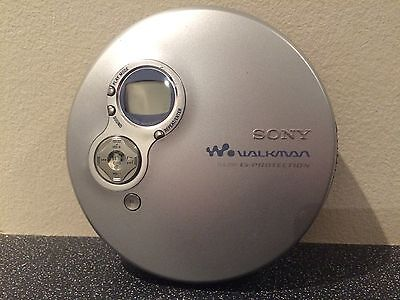 SONY D-EJ750 CD PLAYER - G-Protection Compact Disc Walkman Discman