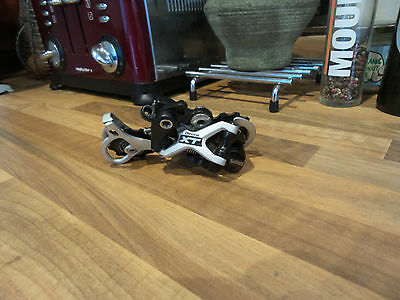 Shimano Deore Xt Shadow Medium Cage Rear Mech - 9 Speed Mtb Tour Bike Derailleur