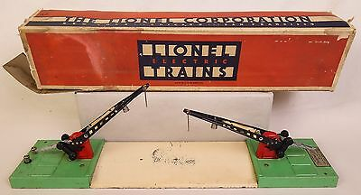 Lionel Prewar #47 Dual Automatic Crossing Gate-Fair Condition In Orig. Box!