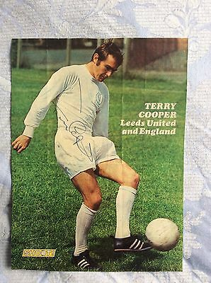 Terry Cooper Signed Magazine Page
