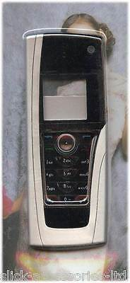 Silver Replacement Housing / Fascia / Cover / Case for Nokia 9500 Communicator