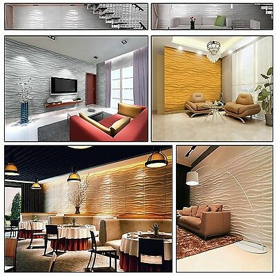 Natural Bamboo 3D Wall panel Decorative Wall Ceiling Tiles Wallpaper Faktum 6 m2