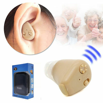 Axon K-88 Rechargeable Digital In Ear Hearing Aid Adjustable Tone Sound Amplifie