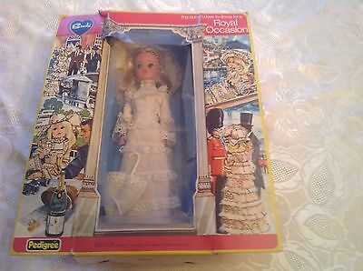Vintage pedigree Sindy For a Royal Occasion Collectors Item MIB