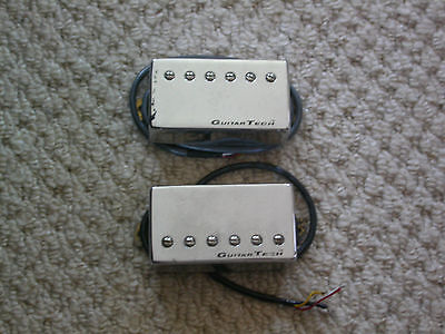 GUITAR TECH NECK & BRIDGE PAF HUMBUCKER PICK UPS MATCHED PAIR for custom project