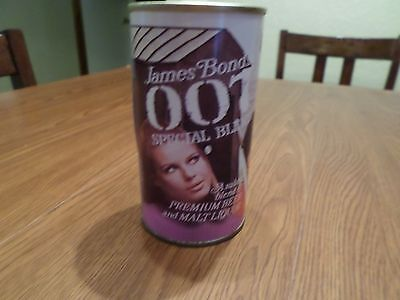 Replica Novelty James Bond 007 Special Blend National Straight Steel Beer Can