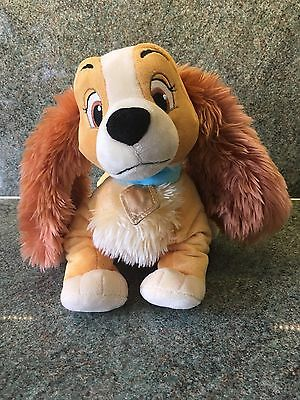 Disney Store Lady Plush Figure From Disney's Lady And The Tramp