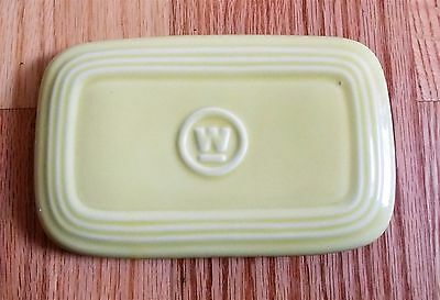 Vintage HALL Yellow Westinghouse Refrigerator W dish LID ONLY