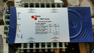 Triax TMP 5 x 32 Mains Powered Multiswitch - 305378