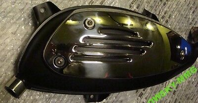 VESPA SILENCER EXHAUST GTS GT GTV 200-300cc with heat shield
