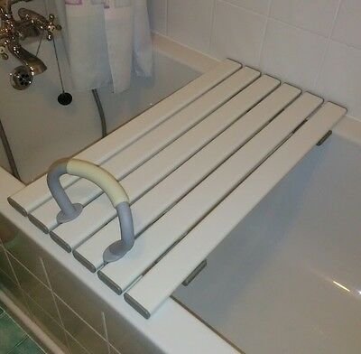 Coopers Slatted Bath Shower Board Bathing Seat Mobility Disability Aid