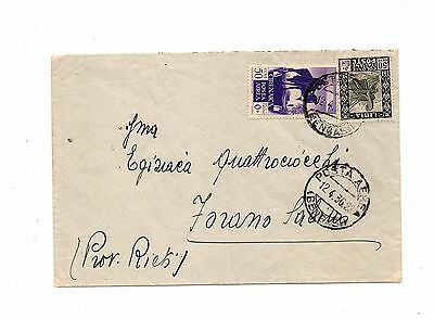 Libya - Italian Colonies - Italie - Postally Used Cover Hcv   Lot (Sa -07)
