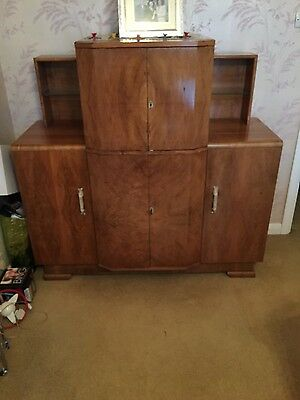 Beautiful Art Deco Style Cocktail Cabinet