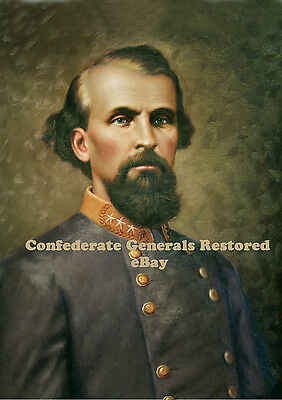 Lt. General Nathan Bedford Forrest • Oil Painting reproduction