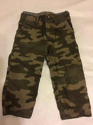 Carters Baby Boys Camo Pants 18 Months Great Condition