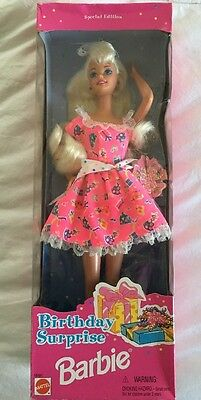 New Barbie 1996 Birthday Surprise Special Edition