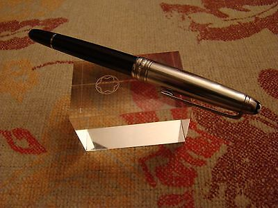 Montblanc Meisterstuck Solitaire Doue Classique Stainless Steel Rollerball Pen