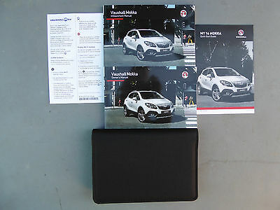 Vauxhall Mokka 2012-2017 Handbook Owners Manual Pack & Wallet Print 2016 Genuine